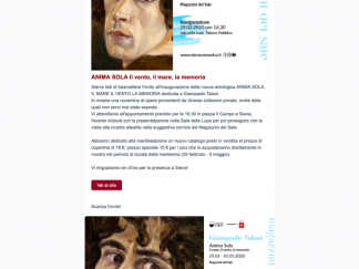 newsletter Giampaolo Talani