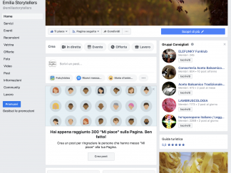 Emilia Storytellers Facebook